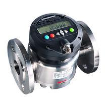 Caudalímetro de piñones ovalados / para carburante / para productos químicos / para ácido