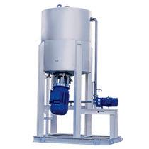 Mezcladora de rotor y estator / continua / sólida / para polímero