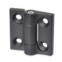 Bisagra de zinc moldeado a presión / de fricción / para enroscar / 180°