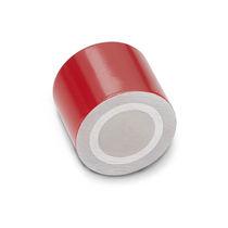 Imán de hierro-boro NdFeB / de mantenimiento cilíndrico / de barra cilíndrica / con casquillo roscado