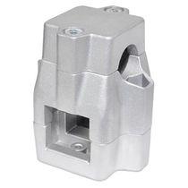 Conexión de tubo cuadrado / de aluminio / sujeción central