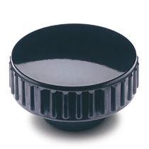 Tuerca moleteada / de acero / de plástico