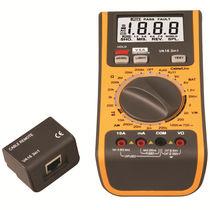 Multímetro digital / portátil / 600 V / 400 mA