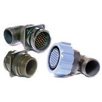 Conector de alimentación eléctrica / circular / de bayoneta / de brida
