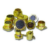 Conector de alimentación eléctrica / circular / con racor de tornillo / de alta densidad