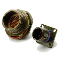 Conector de alimentación eléctrica / circular / de rosca / enchufe ciego