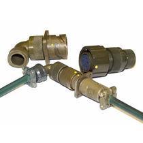 Conector de alimentación eléctrica / circular / de bayoneta / multipolar