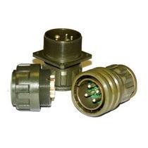 Conector de alimentación eléctrica / circular / de rosca / multipolar