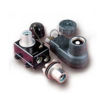 Conector de alimentación eléctrica / coaxial / circular / de extensión-retracción