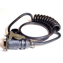 Conector de alimentación eléctrica / circular / de extensión-retracción / unipolar