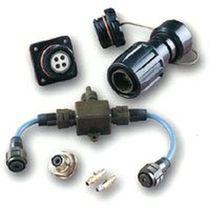 Conector de datos / quadrax / twinaxial / multicoaxial