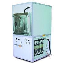 Horno en atmósfera controlada / tratamiento térmico / de análisis / de cámara