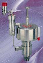 Bomba para productos químicos / manual / de émbolo / resistente a los productos químicos