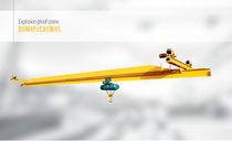 Puente grúa monorriel / para la elevación de metal en fusión / antideflagrante