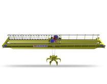 Puente grúa de riel doble / suspendida