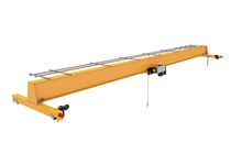 Puente grúa monorriel / con sistemas de elevación ligera / para ruedas y para aplicaciones ligeras