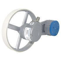 Sistema de medición de longitud / con ajuste centralizado / con ruedas de medición de 500 mm / robusto