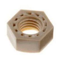 Tuerca hexagonal / de plástico