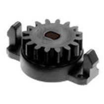 Amortiguador rotativo / hidráulico / para puerta / de plástico
