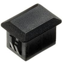 Tapón rectangular / macho / de nailon / para paneles metálicos