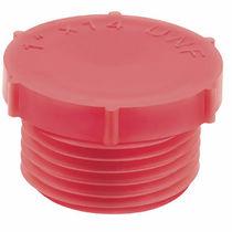 Tapón redondo / de rosca / de polietileno de baja densidad (PEBD) / moleteado