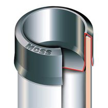 Capuchón redondo / de polietileno de baja densidad PEBD / para altas temperaturas