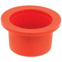 Tapón redondo / de brida / de polietileno de baja densidad (PEBD) / de protección