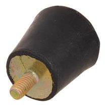 Soporte antivibratorio cónico / de elastómero / tipo D