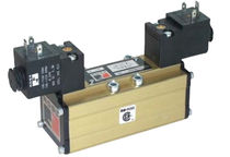 Electroválvula de control asistido / de 5/2 vías
