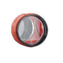 Prisma para topografía / de vidrio / circular