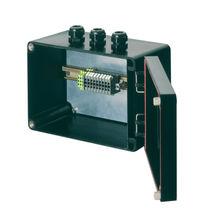 Caja de terminales de pared / antideflagrante / de poliéster reforzado con fibras de vidrio / con prensaestopas