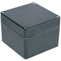 Caja de pared / rectangular / de poliéster / vacía