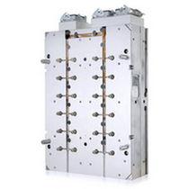 Medio molde de bloque caliente integrado