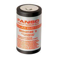 Batería de litio / cilíndrica / primaria / para altas temperaturas