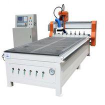 Recortadora CNC / 3 ejes / de leña / con cambiador automático de herramienta