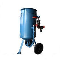 Granalladora manual / para metal / de 2 turbinas