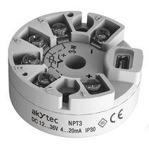 Transmisor de temperatura en cabeza de sonda / RTD / termopar / USB