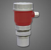 Sensor de nivel por ultrasonidos / para líquido / para sólidos / para tanque