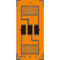 Galga extensiométrica resistiva / biaxial de dos rejillas / lineal / de alta precisión