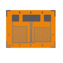 Galga extensiométrica resistiva / biaxial / de tipo roseta / de alta precisión