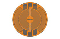 Galga extensiométrica resistiva / circular