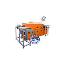 Horno de túnel / tratamiento térmico / de inducción / para lingotes