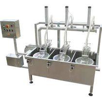 Sistema de lavado de disolvente / de agua / automático / para la industria alimentaria