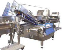 Lavadora automática / de proceso / para la industria alimentaria