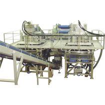 Secador centrífugo / continuo / para la industria alimentaria / cribador