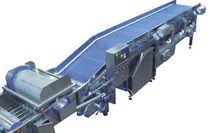 Secadora continua / para fruta / para la industria alimentaria / de verduras