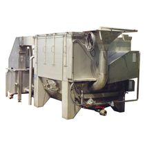 Cocedor de inmersión / de inyección de vapor / blanqueador / para la industria alimentaria