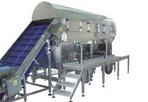 Separador de banda / de sólidos / para línea de producción / para la industria alimentaria