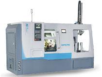 Torno CNC / de alta precisión / con carga descarga automatizada / de almacenamiento de piezas de trabajo