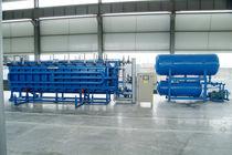 Moldeadora de espuma plástica / de bloques de EPS / controlada por PLC / horizontal